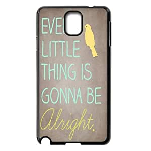 Qxhu everything's alright Hard Plastic Back Protective case for Samsung Galaxy Note3 N9000