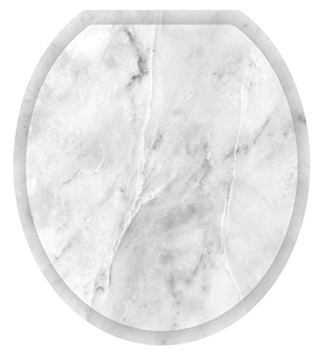 Toilet Tattoos, Toilet Seat  Cover Decal, Calcutta Marble, S
