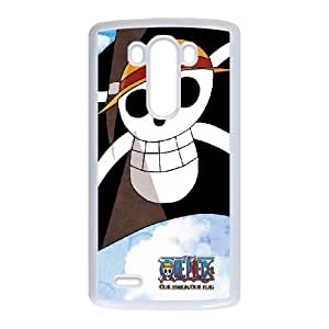 One Piece Flag LG G3 Cell Phone Case White phone component RT_176482