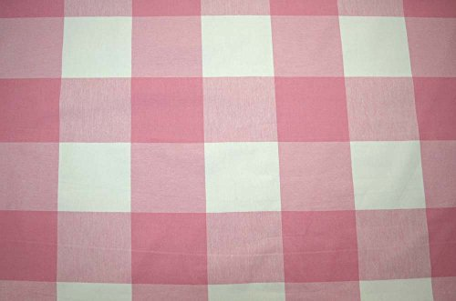Pink Buffalo Check Strawberry Pkaufmann Fabric