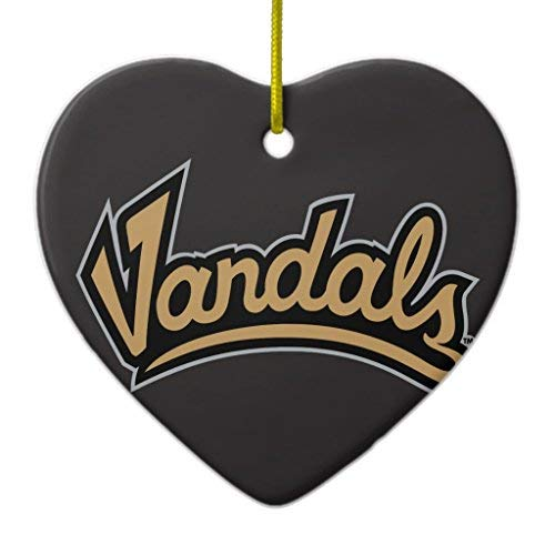 University of Idaho Vandals Xmas Decoration Ceramic for sale  Delivered anywhere in Canada