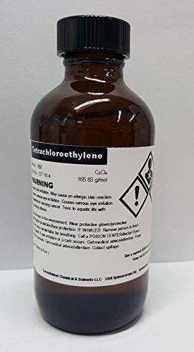 Tetrachloroethylene 120ml (4oz) High Purity Solvent