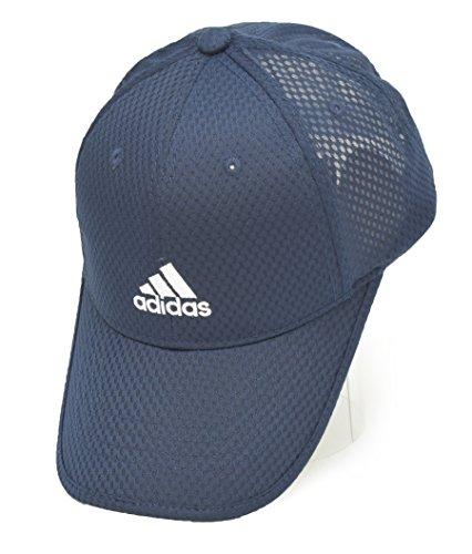 効能あるつらいペナルティ(アディダス)adidas メンズ 吸湿 速乾 ロゴ刺繍 ライトメッシュ スポーツ キャップ 402