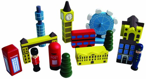 House Marbles London Playset Bag