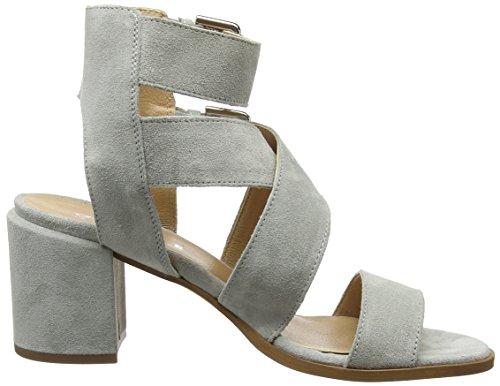 Office Women's Miles Open Toe Sandals Grey (Grey Suede) footaction GMM8fz2zK