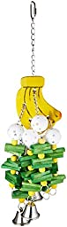 Paradise 7 by 24-Inch Banana Pet Toy, Large