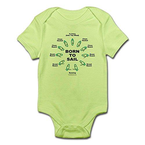 Cafepress   Born To Sail Infant Bodysuit   Cute Infant Bodysuit Baby Romper