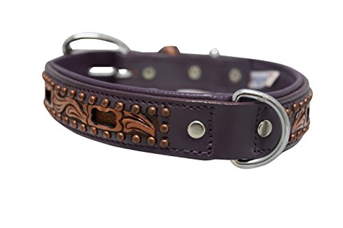 Genuine leather dog collar. 20
