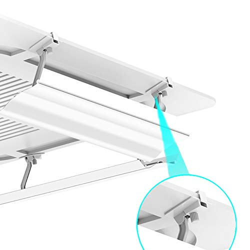 Central Air Conditioning Outlet Baffle for Ceiling, Anti-Direct Blow Windproof Shroud for Hospital/Hotel, White Single Piece (Size : 90CM)