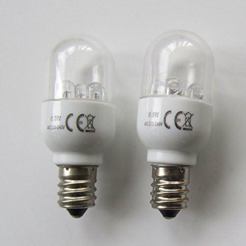 KUNPENG - # LED-E12 220V 2piezas Bombillas LED para la máquina de ...