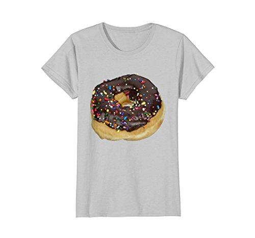 Womens Donut Funny Halloween costume shirt matching couples XL (Funny Halloween Couple Costumes 2017)