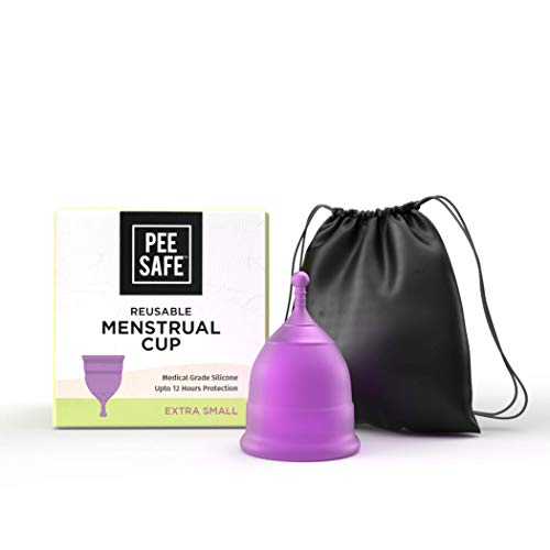 PEESAFE Pee Safe Menstrual Cups for Women | Odour & Rash Free | Leakage Proof | Infection free | Made with Medical Grade…