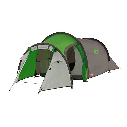 Coleman Cortes 2 Camping Tent, Green/Grey