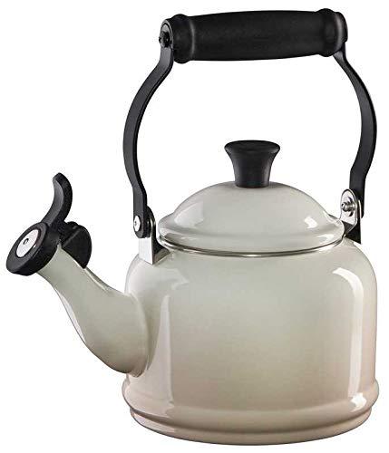Le Creuset Meringue Enamel On Steel Demi Tea Kettle 1.25 - Demi Kettle