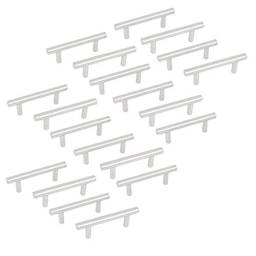 uxcell 4-inch Long Kitchen Cupboard Cabinet Drawer T Bar Pull Handles 20pcs