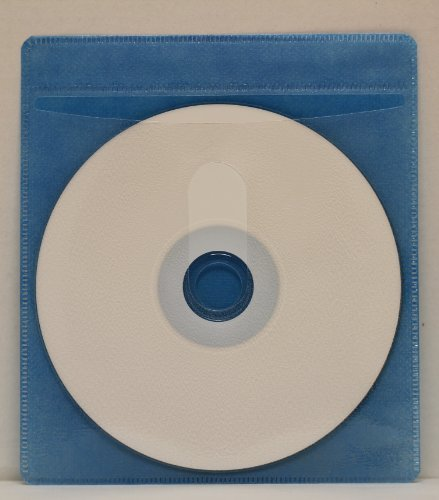 Mediaxpo Brand 100 CD Double-sided Plastic Sleeve Blue