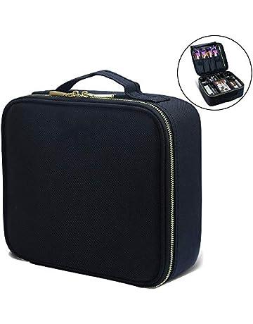 Makeup Train Cases Professional Travel Makeup Bag Cosmetic Cases Organizer  Portable Storage Bag for Cosmetics Makeup c6f59b09713b2