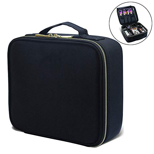 Makeup Train Cases Professional Travel Makeup Bag Cosmetic C