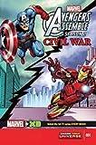 Marvel Universe Avengers Assemble Civil War #1