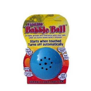 Pet Qwerks TBB2 Medium Talking Babble Ball Assorted Colors ()