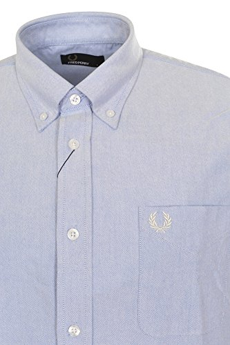 Fred Perry Button-down Business Doppelmanschette - 1 Knopf Loose Fit M