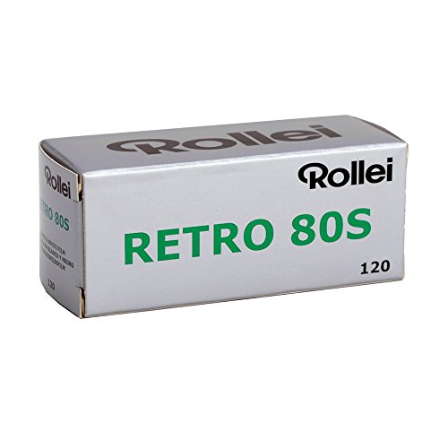 Rollei Retro Black & White 80S, 120 Size