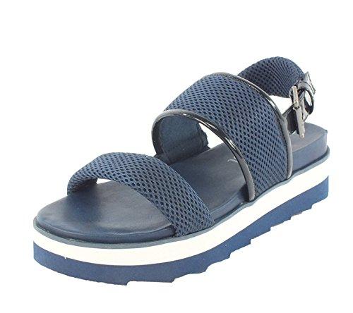 Sandalen s 7301 Blau Sandalette Oliver qxBBpwASH