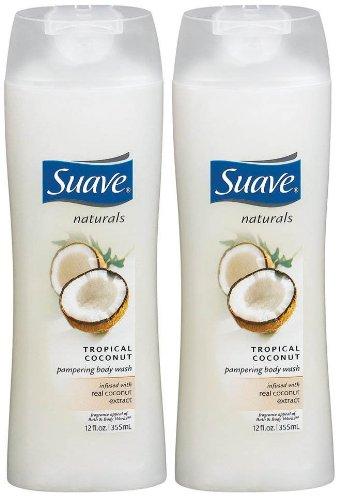 Suave Essentials Body Wash, Creamy Tropical Coconut 15 oz
