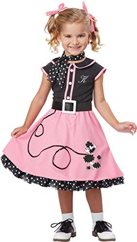 50's Boy Costume (California Costumes 50's Poodle Cutie Toddler Costume, 4-6)