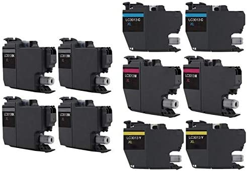SuppliesMAX Compatible Replacement for Brother DCP-J572//J772//J774//MFC-J491//J497//J690//J890//J895DW High Yield Inkjet Combo Pack C//M//Y LC-3213CMY