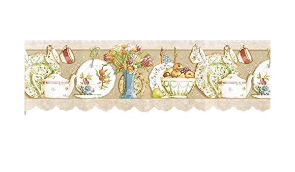 Kitchen Wallpaper Border B7002 Amazon Com