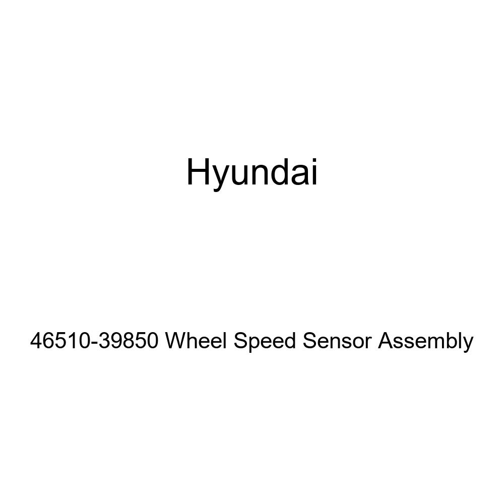 Genuine Hyundai 46510-39850 Wheel Speed Sensor Assembly