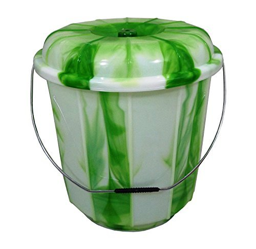 13L / 16L / 20L Lidded Plastic Bucket With Carry Handle I...