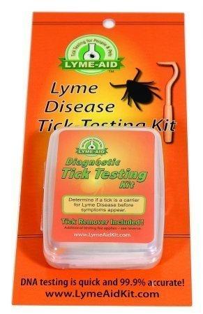 Lyme-aid Diagnostic Tick Testing Kit (Qty: 12)