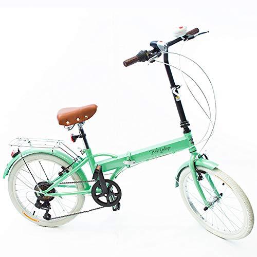 Bicicleta Dobrável Fenix Green - Kit Marcha Shimano - 6 Velocidades