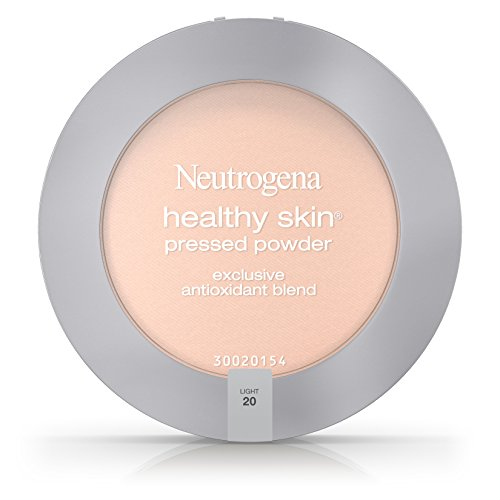Neutrogena Healthy Skin Pressed Powder Spf 20, Light 20, .34 Oz.