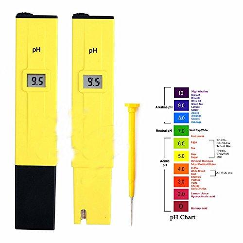 US Digital PH Meter Tester Pocket Portable Pool Water Aquarium Hydroponic Wine by Unknown