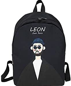 movie Leon backpack man Leon printed backpack boy student schoolbag men fashion casual backpack