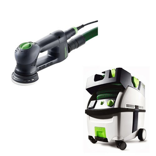 Cheap Festool PI571823 Rotex 3-1/2 in. Multi-Mode Sander with CT MIDI HEPA 3.3 Gallon Mobile Dust Extractor