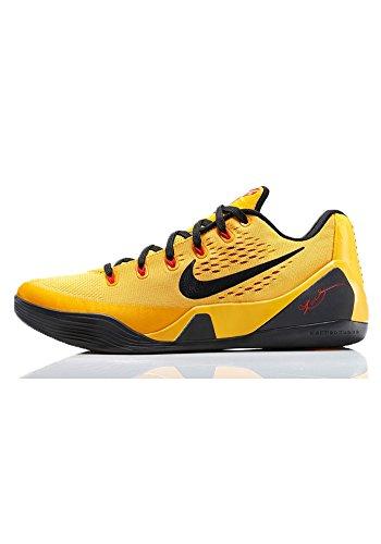 separation shoes fb6fb f97ed Nike Kobe IX EM (Bruce Lee) University Gold Blk-Lsr Crmsn (11)