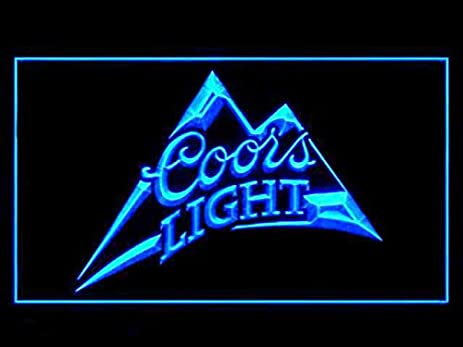 Amazon coors light beer pub bar led light sign home kitchen coors light beer pub bar led light sign aloadofball Images