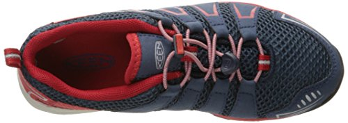 Keen - Zapatillas de Material Sintético para niño azul Blau (dress blues/formula one) Blau (dress blues/formula one)