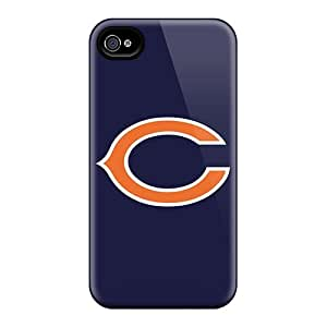 Premium [VJz3779slxi]chicago Bears 3 Case For Iphone 4/4s- Eco-friendly Packaging