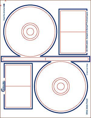Amazoncom Compulabel CD DVD Labels Sheets - Avery cd label template