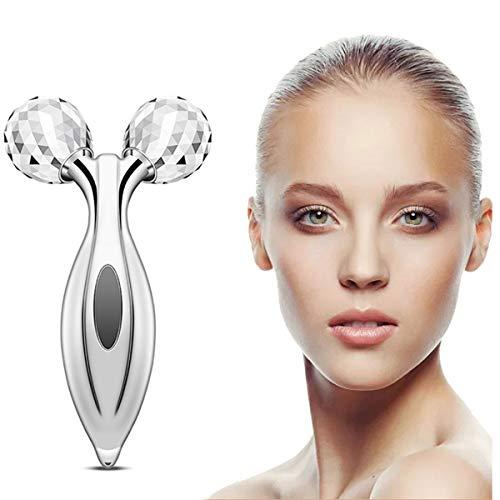 Face Massager Roller 3D Microcurrent Facial Roller Multifun Face Beauty Roller Body Massager for Anti Aging, Skin…