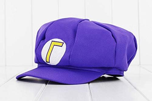 Anime Super Mario Gorra Luigi Bros Cosplay Disfraz de béisbol ...