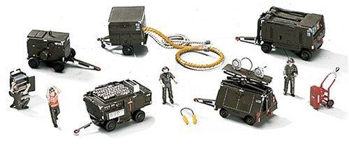 space Ground Equipment Set by Hasegawa (Aerospace Ground Equipment)