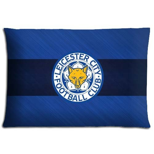 16x24 inch 40x60 cm car pillow protectors case Cotton Polyester Wrinkle-free Collection Leicester City FC ()