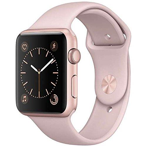 Apple Watch Series 1 42mm ローズゴールドアルミニウムケースとピンクサンドスポーツバンド MQ112J/Aの商品画像