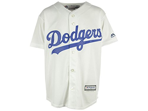 - Los Angeles Dodgers Cool Base Youth Home Jersey (youth medium 10-12)